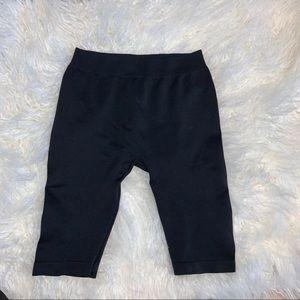 Fashion Nova Black Biker Shorts